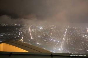 Blick vom Taipei 101