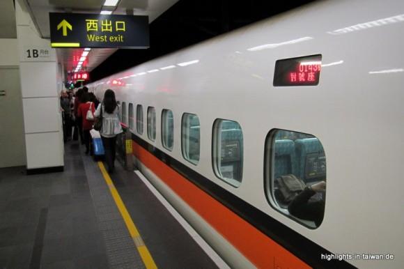 Zug in Taiwan